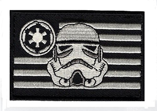 Stormtrooper usa Flag Star Wars Rogue Morale Hook Patch by Miltacusa