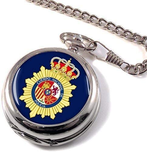Cuerpo Nacional de Policía Full Hunter reloj de bolsillo: Amazon ...