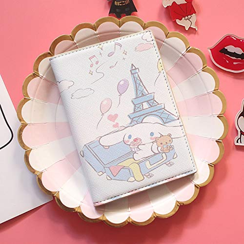 Cute Passport Cover Cartoon Cute Ins Jade Guinea Dog Big Ear Dog Passport Cover Cactus ID Card Holder Travel Accessories