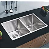 Starstar Double Bowl Undermount Kitchen Sink 16 Gauge 304 Stainless Steel