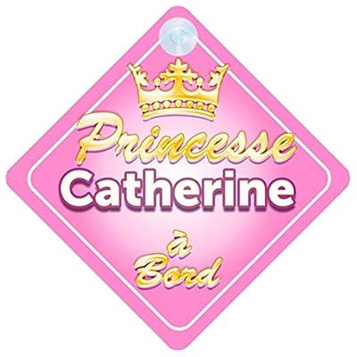 Couronne Princesse Catherine Signe Pour Voiture Enfant/Bébé à Bord Bébés & Puériculture