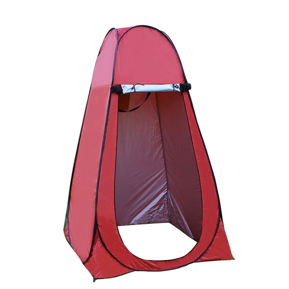 HI SUYI 6 FT Tente de Douche Portable Pop Up Cabine Changement Tente De Camping Instantan/ée Pliable Intimit/é Abri Toilette Protection UV pour Plage Camping Randonn/ée Ext/érieure