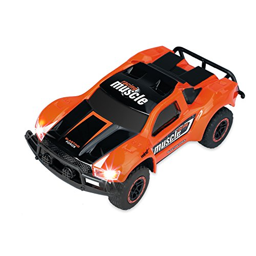 SZJJX RC Cars High Speed Racing Car 2.4Ghz 1/43 Mini Scale 4WD 9MPH+ 2.4Ghz Radio Remote Control RTR Fast Electric Race Power Vehicle Trucks with LED Headlight