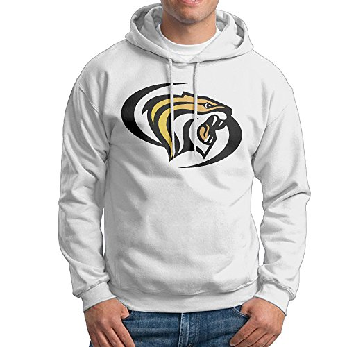University Of The Pacific Tiger Sweatshirt For Men Size S White