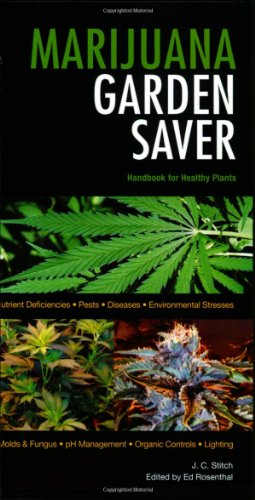 51WVU0iTjNL Marijuana Garden Saver: Handbook for Healthy Plants