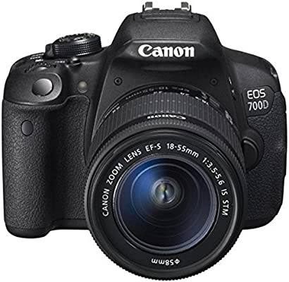 Canon EOS 700d Kit 18 - 55 IS Negro Sensor CMOS 18 Mpx Pantalla 3 ...
