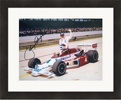 Signed Rutherford Photo - 8x10 Racing Indianapolis 500 Lone Star JR #3 Matted & Framed - Autographed NASCAR (Rutherford Autograph)