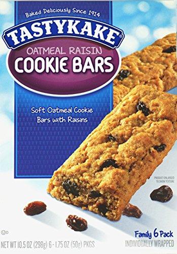 Oatmeal Raisin Box (Tastykake: Oatmeal Raisin Cookie Bars 3 Boxes)