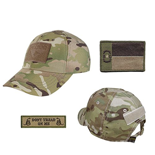 US State Operator Cap Bundle - With State & Dont Tread On Me Patches - North Carolina