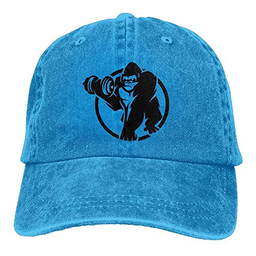 Cowgirl Cap Men Hat Sport Women Skull Sport Denim DEFFWB Cowboy Gorilla Hats for BUx40xqa