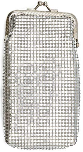 (Silver Vintage Luxuriant Soft 3mm Metallic Mesh (Full Pack 100s/Kings) Cigarette Case Purse)