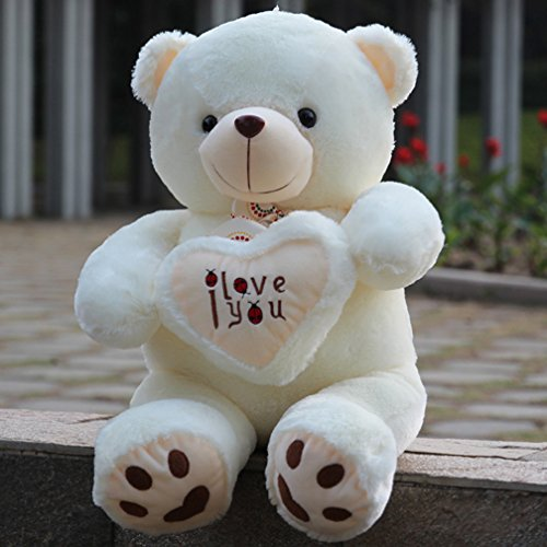 WOWMAX White Cuddly Stuffed Animals product image
