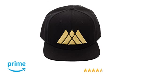 Amazon.com: Bioworld Destiny 2 Warlock Logo Black Adjustable Snapback: Clothing