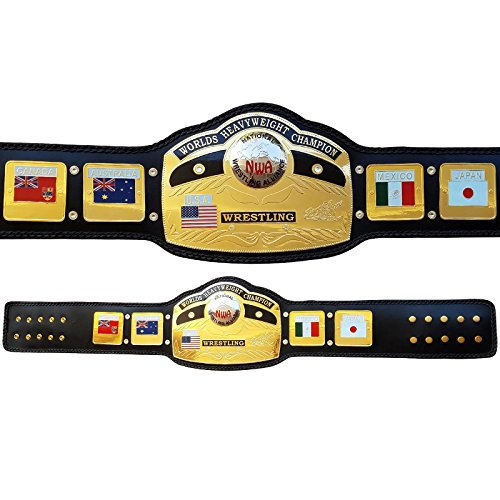 NWA Global World Heavy Weight Championship Belt Replica Adult (Replica Belt Nwa)