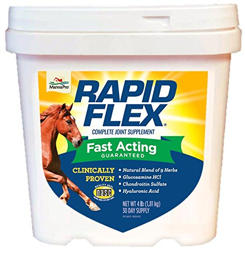 Manna Pro Rapid Flex Supplement, 4-Pounds