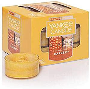 Yankee Candle Harvest Tea Light Candles, Food & Spice Scent