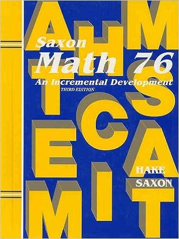 Saxon math 76 student edition 2002 saxon publishers saxon math 76 student edition 2002 3rd edition fandeluxe Image collections