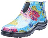 Sloggers Women's Waterproof Rain and Garden Ankle Boots with Comfort Insole, Midsummer Blue, Size 8, Style 2841BL08