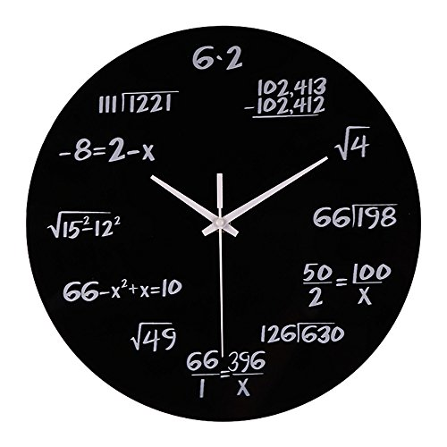 Hub Wall Clock With Led Light in US - 3