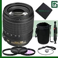 Nikon 18-105mm VR Nikkor Lens Greens Camera Package 2
