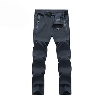 Ynport Crefreak Pantalones de Invierno para Hombre de Kiwi con Forro Polar Pantalones de Senderismo de esquí térmico en Invierno: Amazon.es: Deportes y aire ...