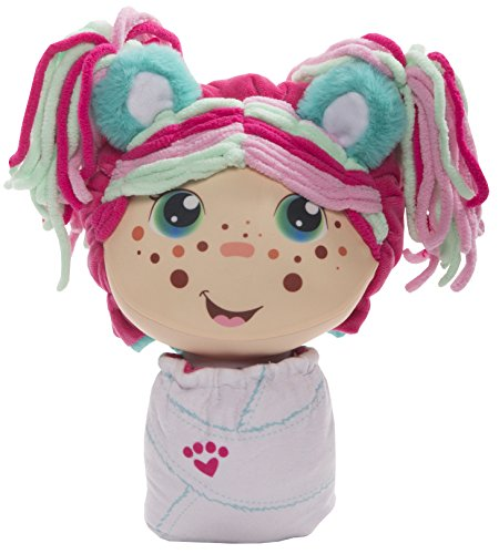 Flip Zee Girls Zoey Snuggly Bear 2-in-1 Plush Doll by Jay at Play Soft & Squeezable Toy Instantly Switches from 12in Baby to 18in Big Girl Surprise
