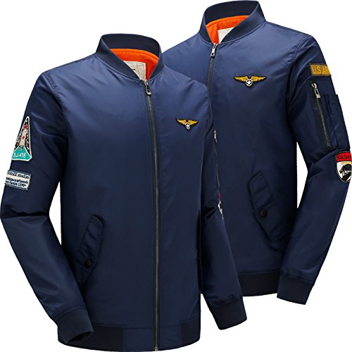 Military Jacket MA-1 Style Army Tactical Baseball Jackets Coats Male Militar at Amazon Mens Clothing store: