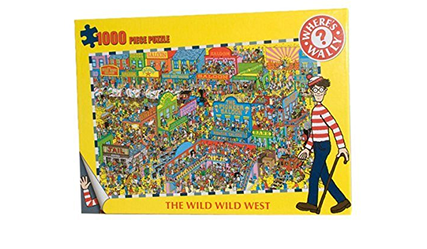 NEW Where/'s Wally Battle Of The Bands Jigsaw 1000 Piece Puzzle  NEW /& SEALED