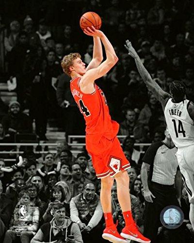 Lauri Markkanen Chicago Bulls NBA Spotlight Action Photo (Size: 11