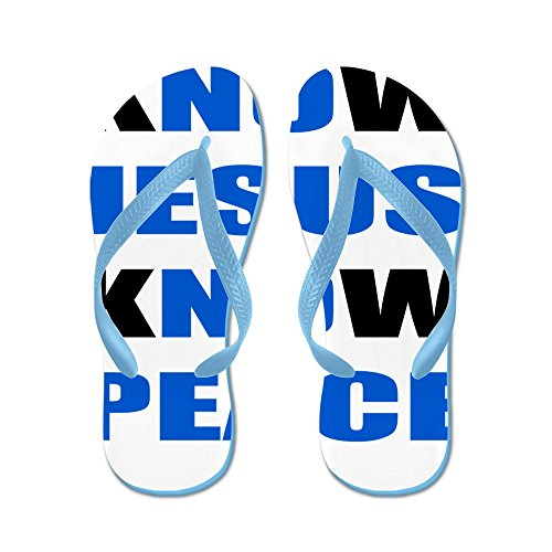 Cafepress Vet Jesus Vet Fred - Flip Flops, Roliga Rem Sandaler, Strand Sandaler Caribbean Blue