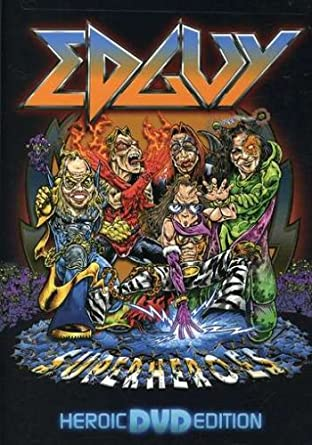 dvd do edguy