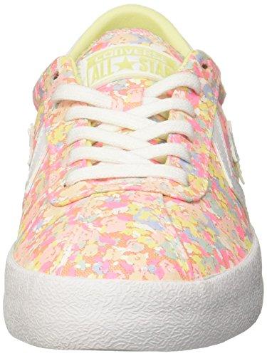 Converse , Damen Sneaker Weiß-Rosa