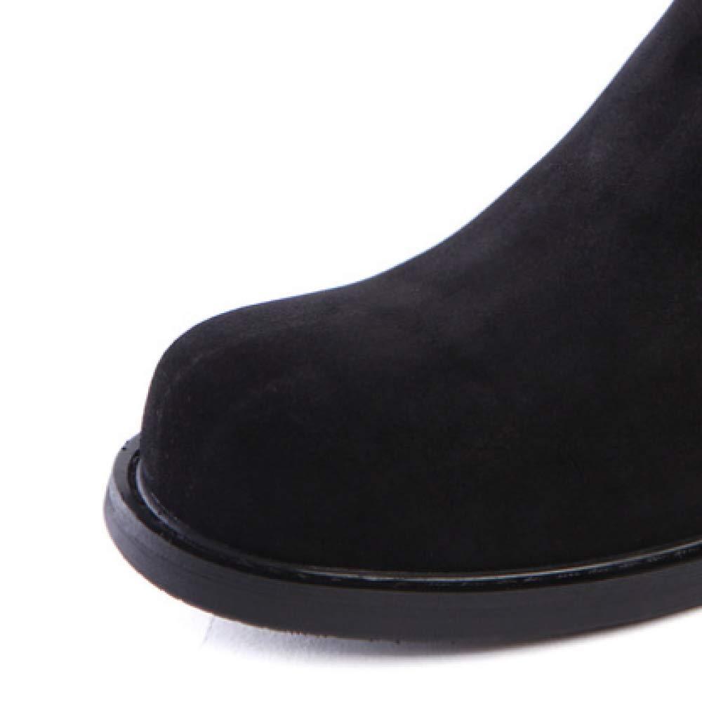 XYCSZQ Männer, Lederschuhe, Lässige, Faule Schuhe, Atmungsaktiv, Bequem, Broch, Broch, Broch, Gummi B07HVS7T4Z  01639b