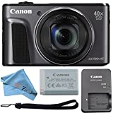 Canon PowerShot SX720 HS 20.3MP Digital Camera 40x Optical Zoom and Built-in WiFi/NFC (Cloth Only, Black)