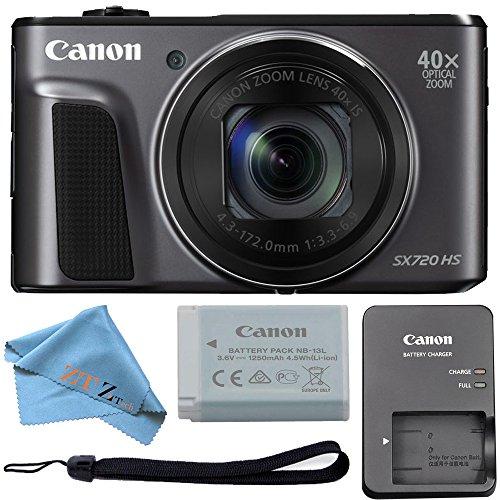 ZeeTech Canon PowerShot sx720HS Cámara Digital DE 20.3MP 40x de Zoom óptico y WiFi Incorporado/NFC