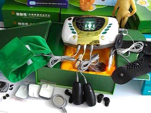 Diabetes Acupuntura Terapia de masaje digital de la máquina Medicomat by Medicomat