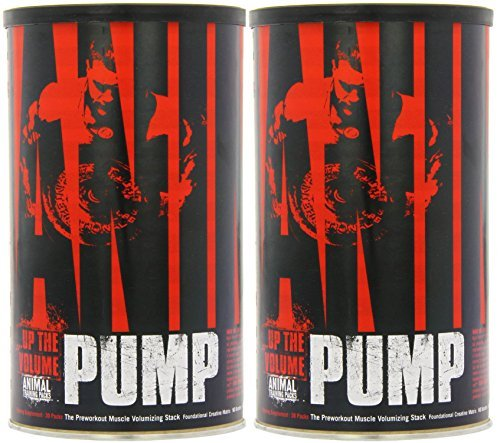 Universal Nutrition System Animal Pump 30 Packets [2 Pack] by Universal Nutrition