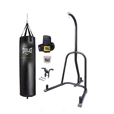 Beastly Gen Gyms and Everlast Punching Bag Everlast Heavy Bag Kit with Stand