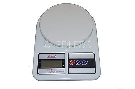 Báscula digital de cocina SF 400, LCD, funció