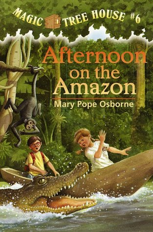 Afternoon on the Amazon - Book  of the Das magische Baumhaus