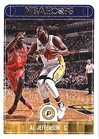 2017-18 NBA Hoops  154 Al Jefferson Indiana Pacers Official Basketball Card  made by 3e100fa31
