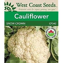 Cauliflower Seeds - Snow Crown F1 Organic