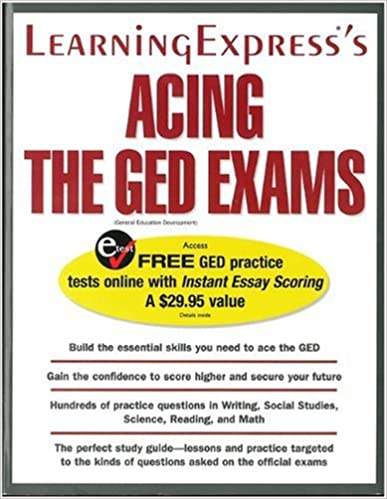 Acing the ged exam learningexpress editors 9781576854884 amazon acing the ged exam learningexpress editors 9781576854884 amazon books fandeluxe Gallery
