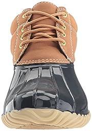 Tommy Hilfiger Women\'s Heat Rain Boot, Navy, 9 M US