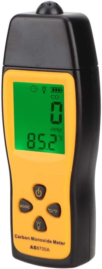 High Precision CO Gas Tester Monitor Detector Gauge Handheld Carbon Monoxide Meter