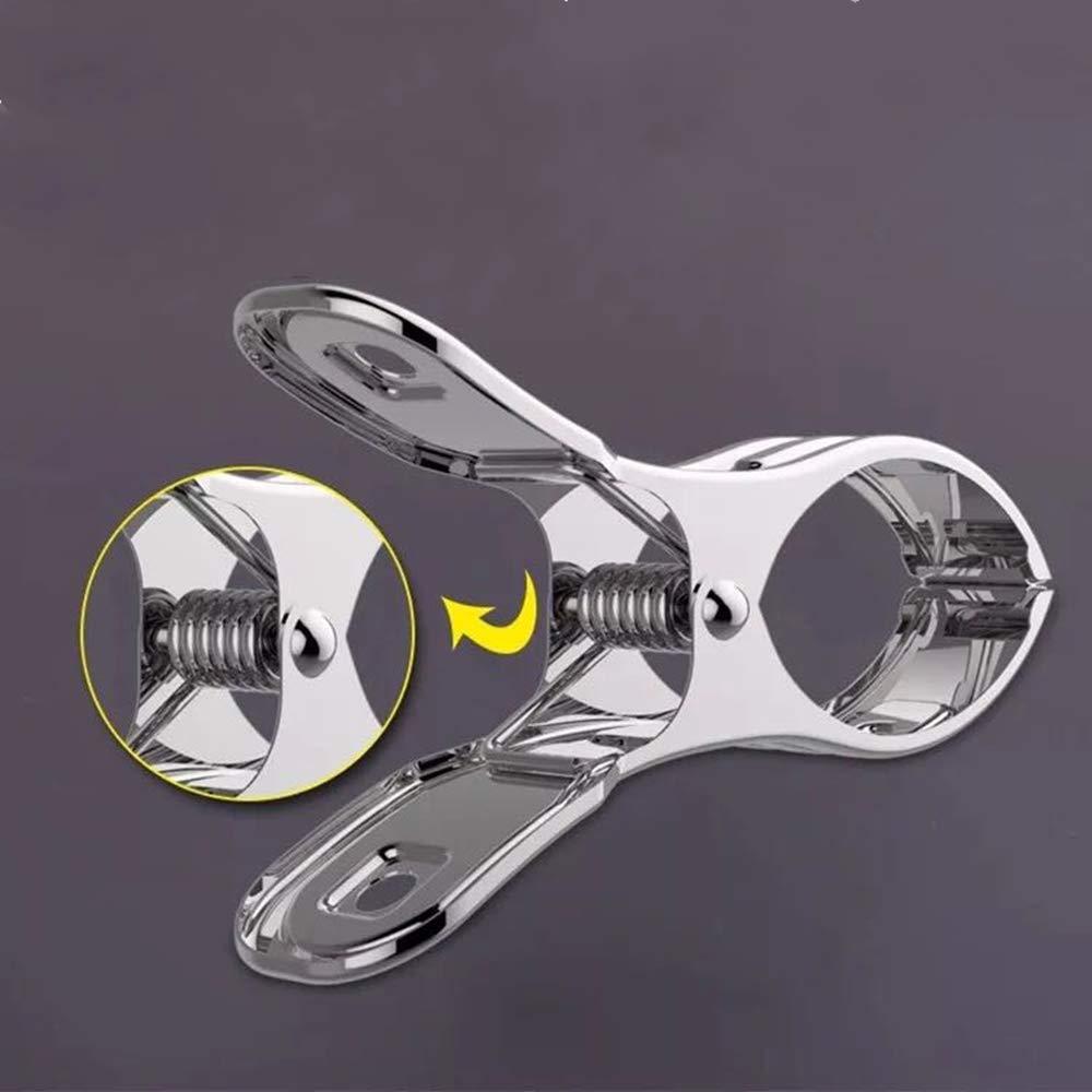 Pinces pour Serviette de Pince /à Linge INOX Durable pour Serviette de Plage V/êtements Couette Serviette de Bain 12pack 12cm Nv Wang Clips de Serviette de Plage