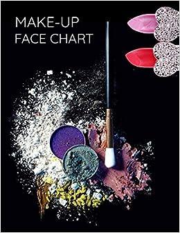 Gesicht Diagramm Make Up Kunstler Blank Vorlage 12