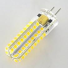 Smartlive 5pcs pack 5W 12V GY6.35 G6.35 Base LED light bulb lamp 40 Watt Equivalent Halogen Bulb replacement Warm White 3000k for Chandelier,Indoor Decorative ,Ceiling Fan,kitchen lighting