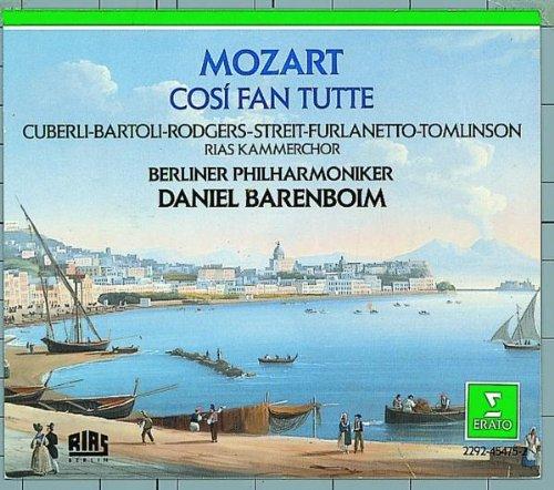 Mozart - Così fan tutte / Cuberli · Bartoli · Rodgers · Streit · Furlanetto · Tomlinson · Berlin Phil. · RIAS · Barenboim