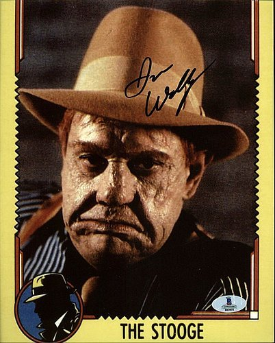 Jim Wilkey Dick Tracy Authoritative Signed 8X10 Photograph Signature - Certified Genuine Autograph By Beckett